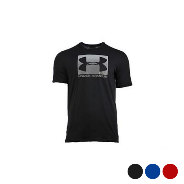 Men's Short Sleeve T-Shirt Under Armour Boxed Sportstyle