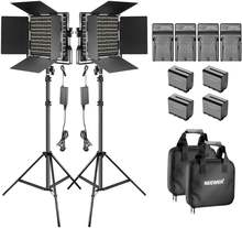 Neewer 2 pack dimmable двухцветный 660 светодиодный светильник