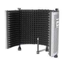 Neewer NW-5 pliable réglable Portable insonorisant panneau d'enregistrement Vocal, aluminium Isolation acoustique Microphone bouclier