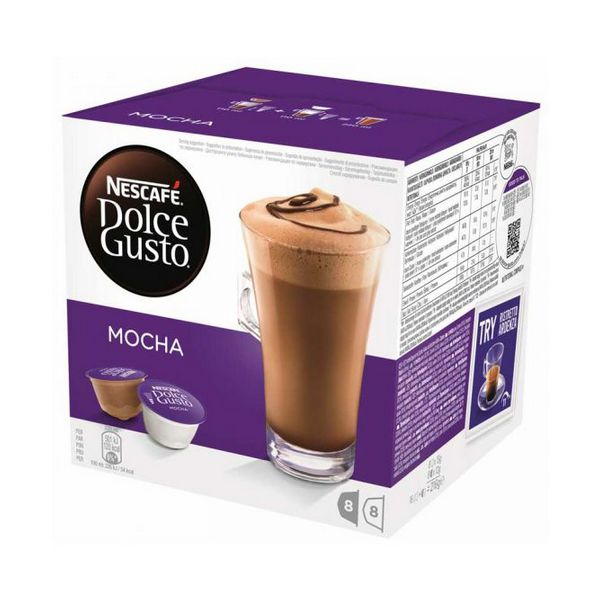 Coffee Capsules Nescafé Dolce Gusto 49523 Mocha (16 uds)|Capsule Coffee Machine| |  - title=