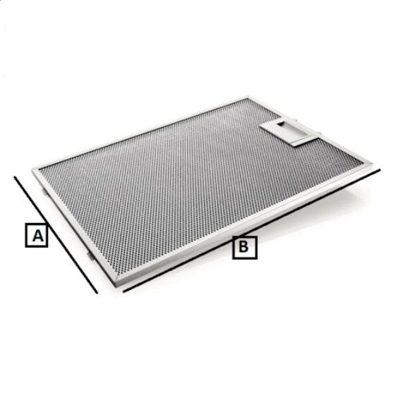 Universal Kitchen Cooker Hood Mesh Filter (Metal Filter) 250 x 300 mm