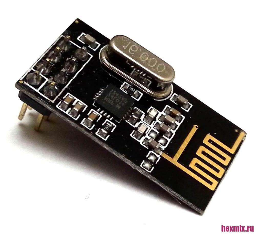 Radio Module Nrf24l01 + 2.4 GHz 2Mbps