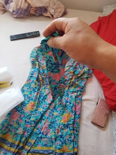 Sexy Wrap Tunic Beach Summer Dress Women Floral Print Bohemian Boho Mini Short Summer Dress And Sundress Female photo review