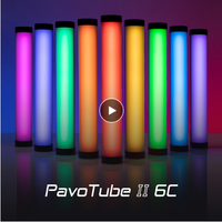 Nanguang Nanlite PavoTube II 6C LED RGB soft light Tube Portable Handheld Photography Lighting Stick CCT Mode Photos Video