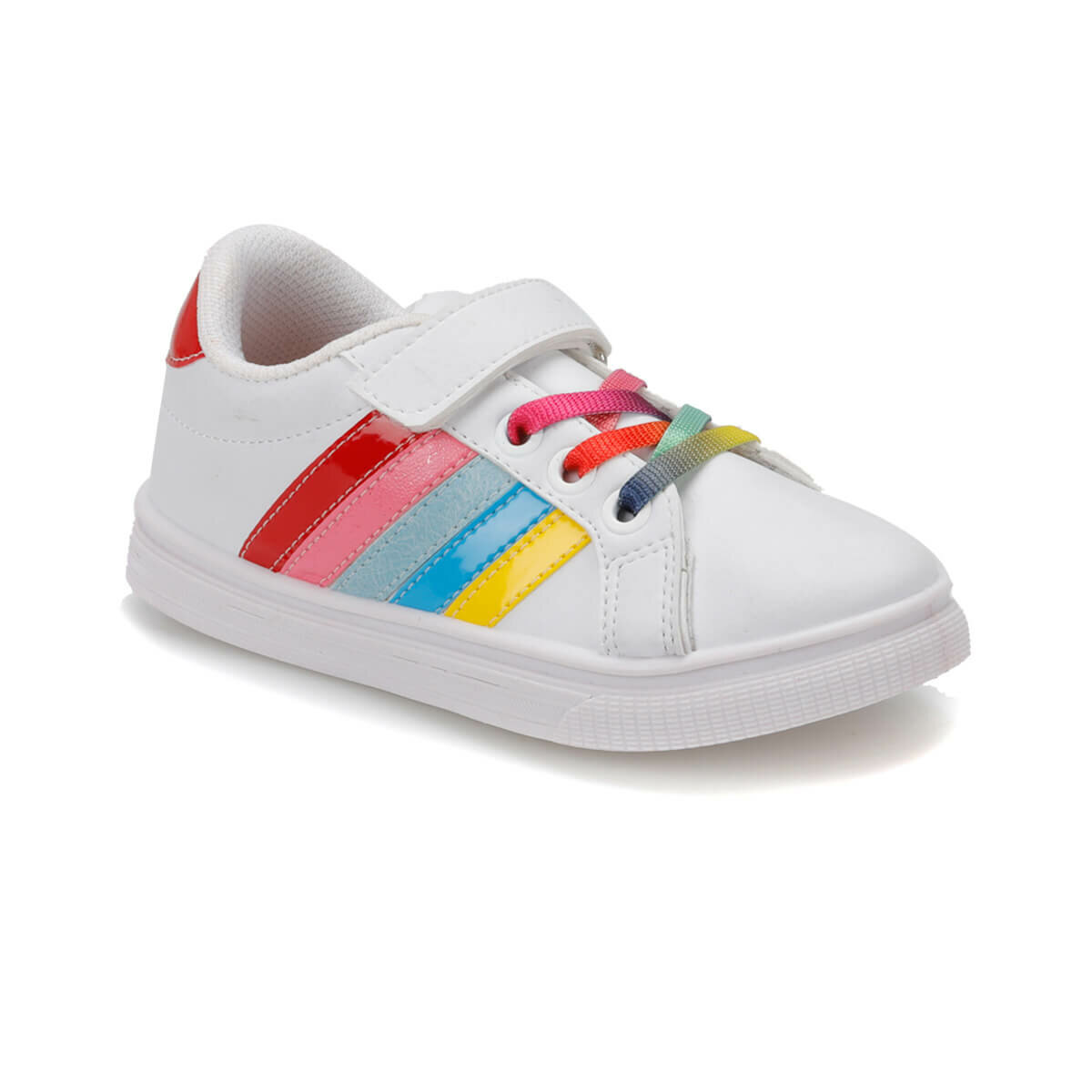 FLO FUNNY P White Female Child Sneaker Shoes I-Cool