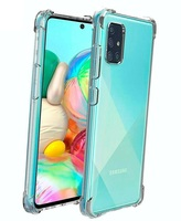Stand case for SAMSUNG GALAXY A71 Antishock Clear Gel Anti-Shock