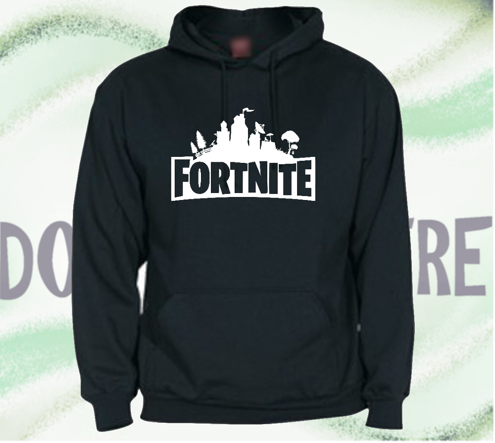 Sweatshirt hoodie FORTNITE man woman CHILD plush