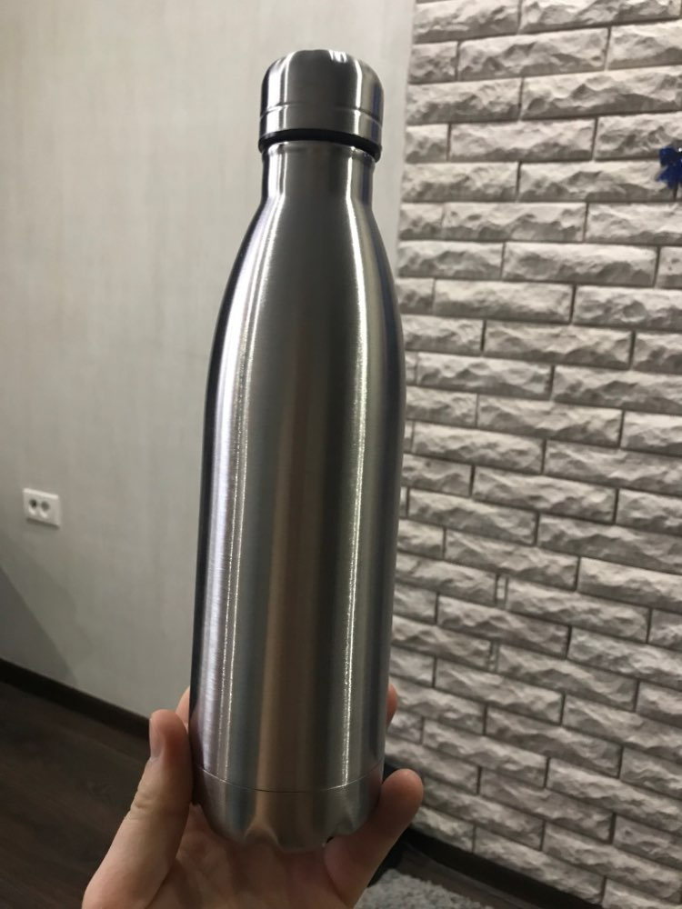 Stainless Cola Motion Sport Water Bottle Rugged Water Cup Monolayer No Heat Preservation Metal Color Cola Drink Bottle Drinkware-in Water Bottles from Home & Garden on AliExpress