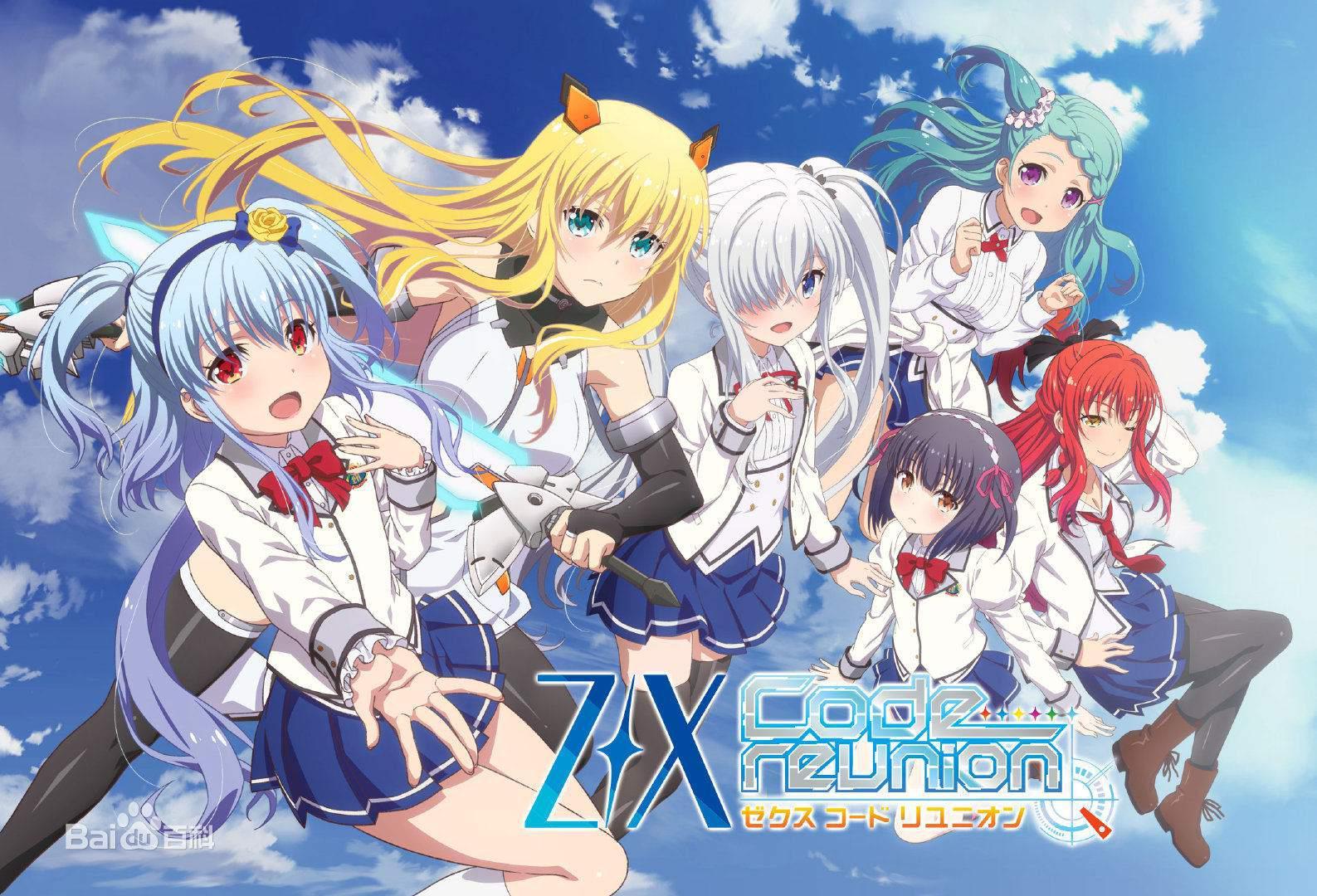 Z/X Code reunion的海报