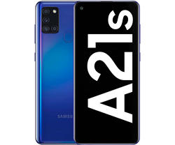 Samsung Galaxy A21S синий мобильный 4G Dual Sim 6,5 'LCD Hd + Oct смартфон мобильный телефон