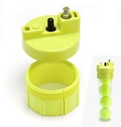 Bola Salvador Premium Plus: pressurizador de bolas de ténis e remo. Inclui inflator com medidor regulador.