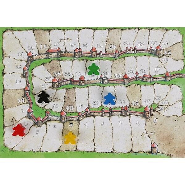 Ensemble de Carcassonne. Cadeau Royal, monde de passe-temps - 4