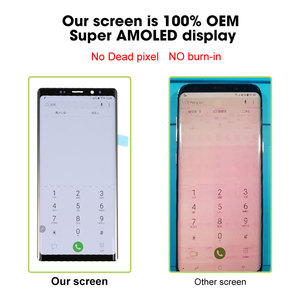 Image 4 - 100% Ori per SAMSUNG Galaxy Note 8 9 Display OLED Super AMOLED Display LCD Touch Screen Digitizer Assembly sostituzione nuovo OEM