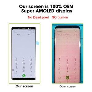 Image 4 - Сменный сенсорный ЖК экран Ori, для SAMSUNG Galaxy Note 8 9, Super AMOLED, OEM