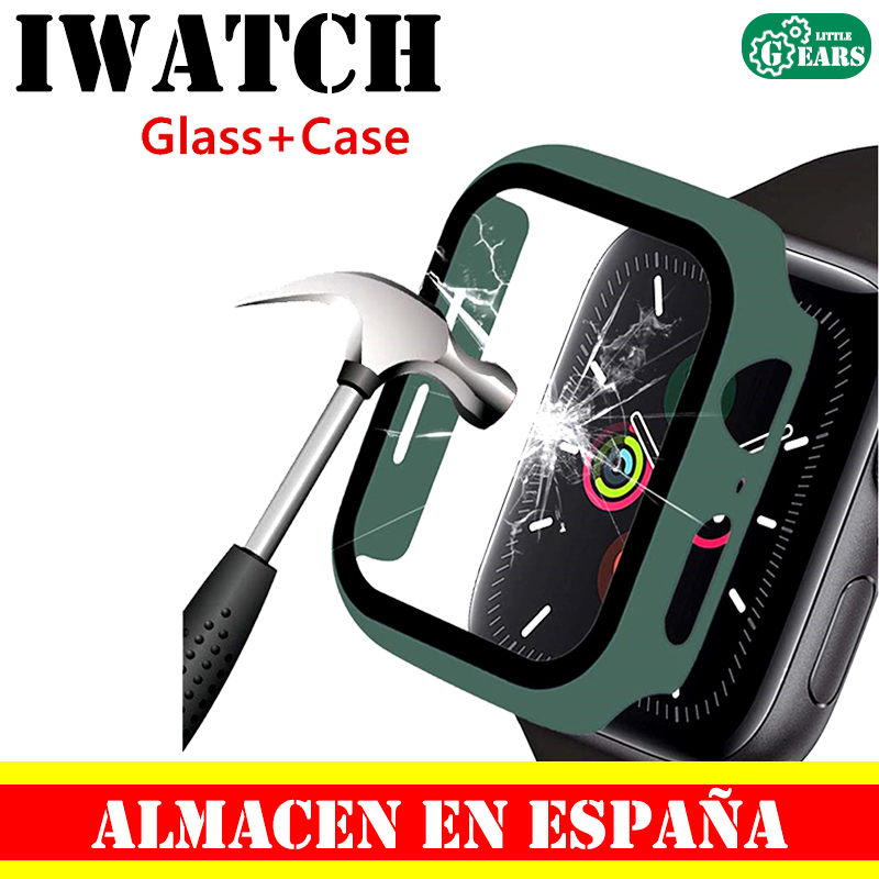 Чехол для Apple Watch серии 4 3 2 1 38 42 мм iWacth Protector de Pantalla с чехлом для Apple Watch аксессуары