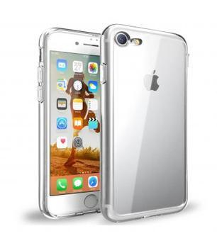 Funda de gel TPU carcasa silicona para movil Apple Iphone 8 TRANSPARENTE