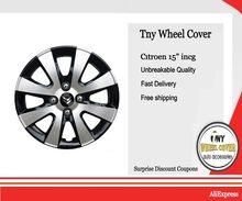 Для Berlingo R15 колесо крышка набор из 4 15' 'İnch Небьющийся 1st качественный АБС-пластик Крышка Заглушка на окрашена в глянцевый черный и серый