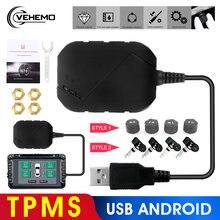 Vehemo android dvd tpms usb сигнализация для шин Автоматическая