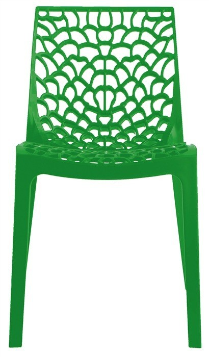 Chair WHIM, Polypropylene Green Brightness *