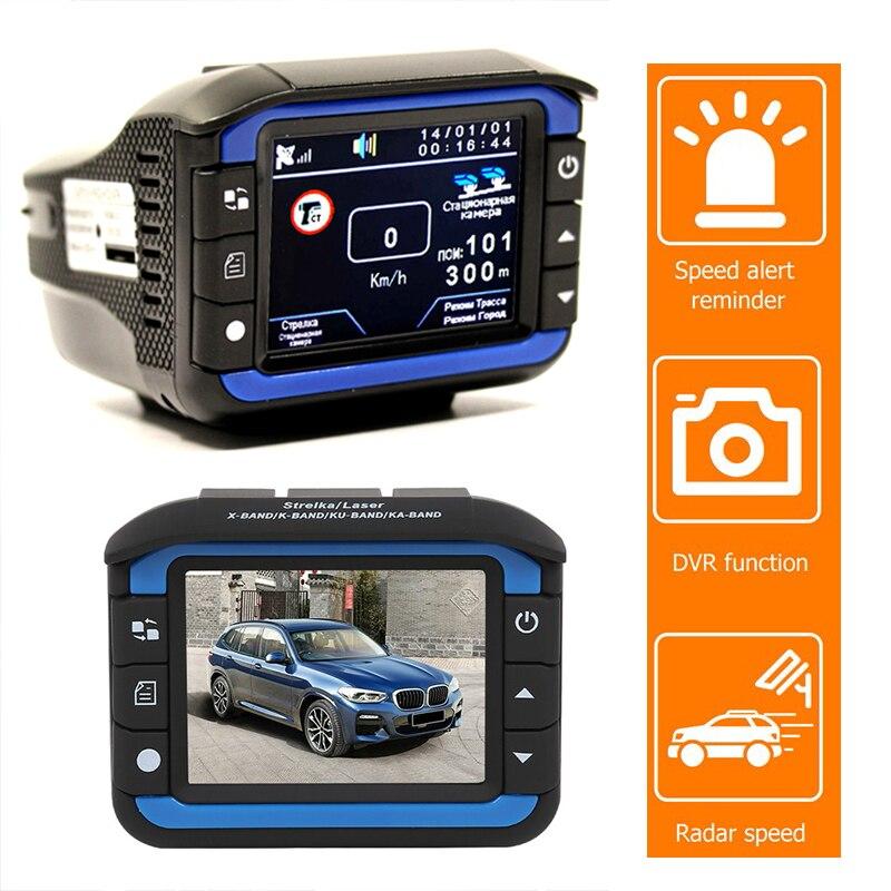 Автомобильный видеорегистратор радар-детектор видеорегистратор радар 3 в 1 HD 1080P 170 градусов угол русский язык видеорегистратор dashcam