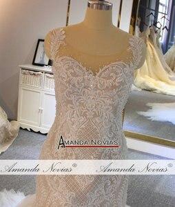 Image 5 - Amanda Novias mermaid wedding gown special lace beading bridal dress