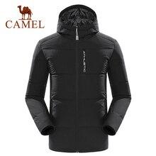 Camel dół kurtki mężczyźni kobiety Winter Warm 80% biały puch kaczy z kapturem piesze wycieczki płaszcz wyjściowy Casual jaqueta masculino chaqueta hombre