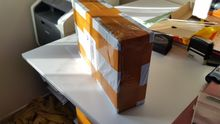 Same description, exactly. The box externally came a little dented, but drone protected, p