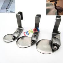3 предмета в комплекте. Промышленные швейные машины шариковый рулон подшиваемые ножки подходят для BROTHER JUKI CONSEW#490358 1/8+ 3/16+ 1/4