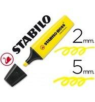 Marcador stabilo chefe fluorescente 70 amarelo 10 unidades|  -
