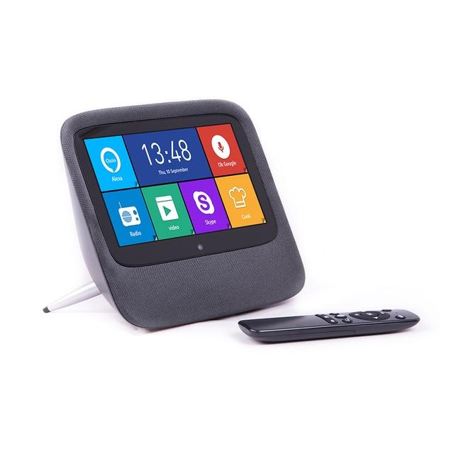 Android Internet Radio Google Home Alexa Bluetooth Speaker Met 7 Inch Touch 2K Fhd Display (Octa core, 2 Gb DDR3, 16 Gb Flash)