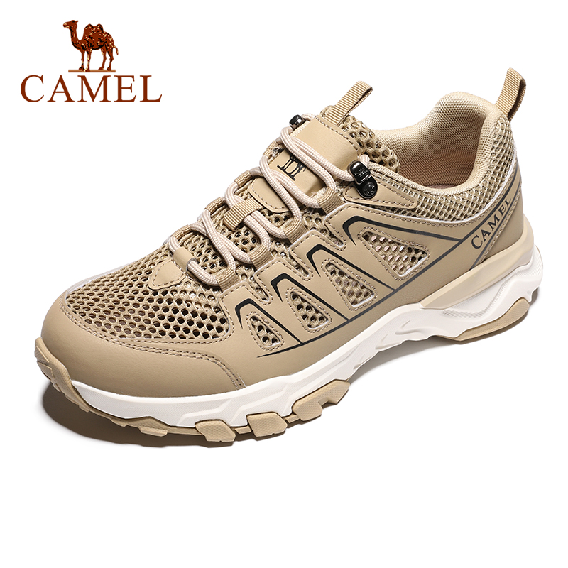 CAMEL Fashion Casual Training Outdoor Summer Light Breathable Sports Shoes Men Sneakers Hiking Running Jogging Footwear