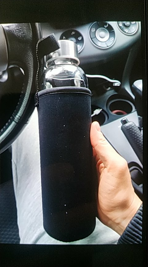 UPORS Glass Water Bottle 280ml/360ml/550ml Sport Bottle with Stainless Steel Lid and Protective Bag BPA Free Travel Drink Bottle|Water Bottles|   - AliExpress