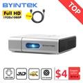 BYINTEK U50 Full HD 1080P Android Wifi смарт-2K 3D 4K Портативный лазерная эпиляция дома мини LED DLP проектор Proyector для Мобильный телефон