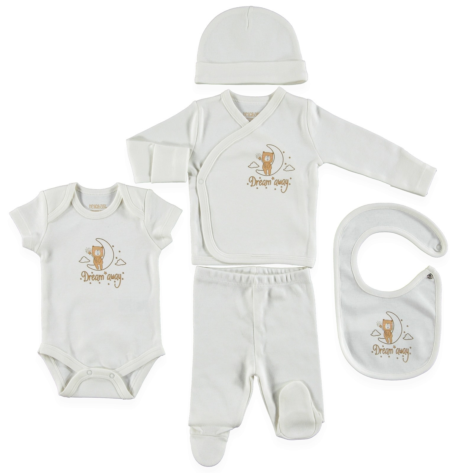 Newborn Baby Boy Clothing Set 3 Piece Big Bow Children Infant Clothes 0-18 Month