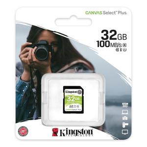 Sd Card 32 hard gb Class 10 Canvas PLUS Kingston UHS-1 U3-Original-tarjeta de memoria