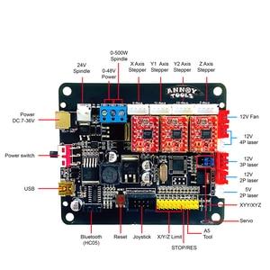 Image 3 - Gravador laser cnc 3018pro, grbl 1.1 cnc, máquina de fresagem de 3 eixos, gravura a laser roteadora de madeira 5500mw/15000mw trabalho offline