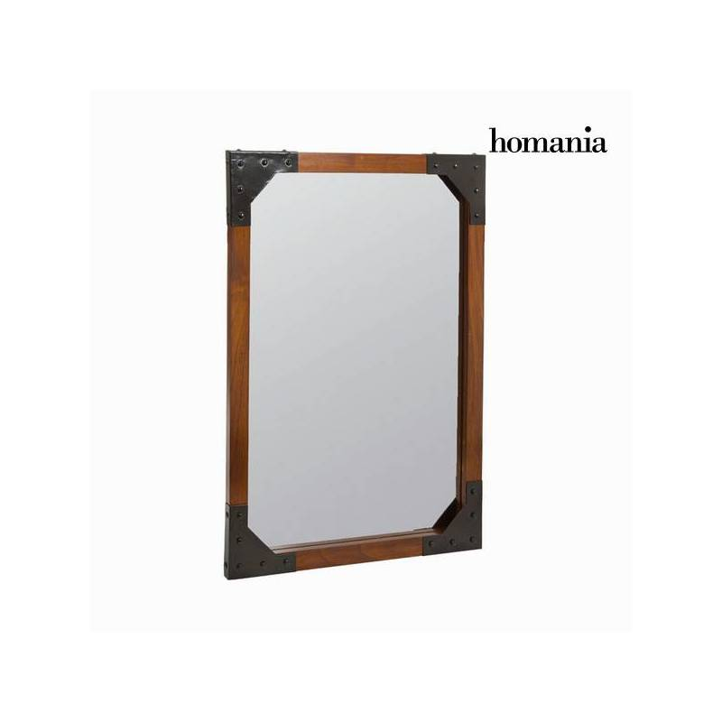 Wall Mirror Wood And Metal-Collection Franklin By Homania