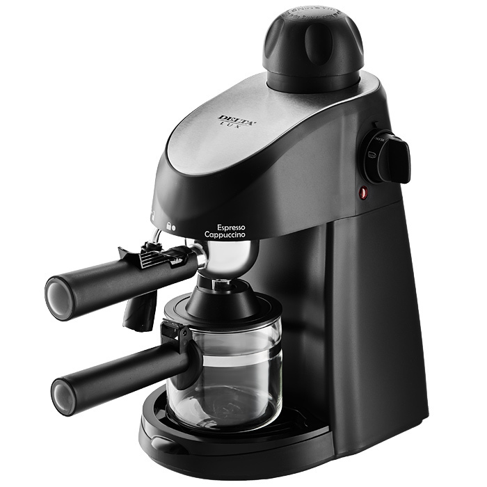 <font><b>Coffee</b></font> machine Delta Lux dl-8150к рожковая Black image