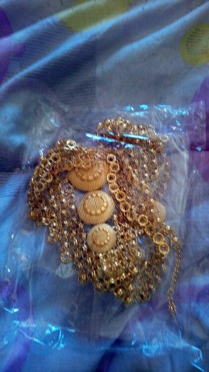 Bijoux femmes mode collier 24k
