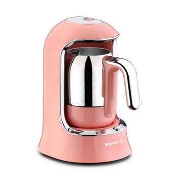 English Electric Coffee Maker (Pink) #8211 Kahvekolik tanie i dobre opinie KORKMAZ