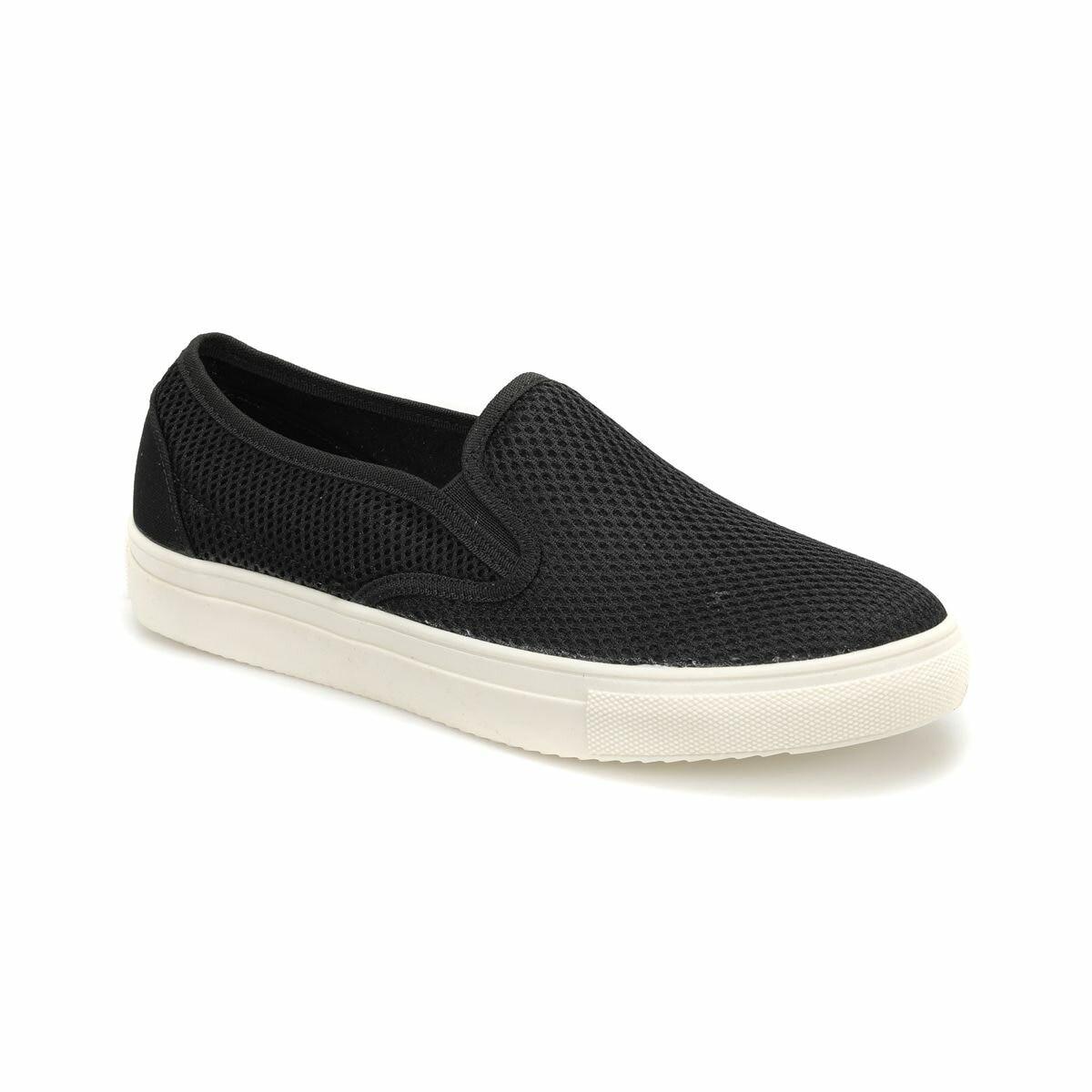 FLO 2804 Black Male Shoes Panama Club
