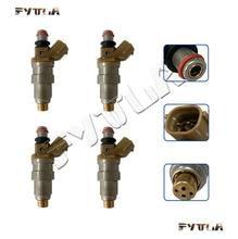 4x 23209-11100 23250- 11100 injector de combustível para Toyota Paseo Corolla 1.5L EE101 EE111 Tercel EL53