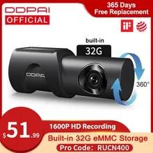 DDPAI 대쉬 캠 미니 3 1600P HD Dvr 자동차 카메라 Mini3 자동 드라이브 차량 비디오 Recroder 2K 안드로이드 와이파이 스마트 24H 주차 카메라