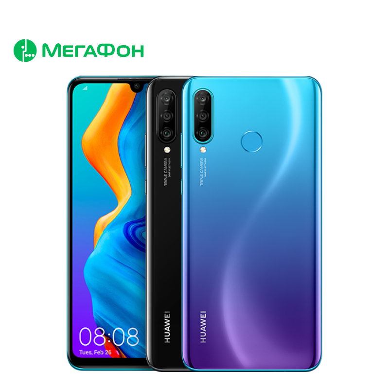 Смартфон Huawei P30 Lite 256Gb New Edition [SIM любых операторов, официальная гарантия]|Смартфоны и мобильные телефоны|   | АлиЭкспресс