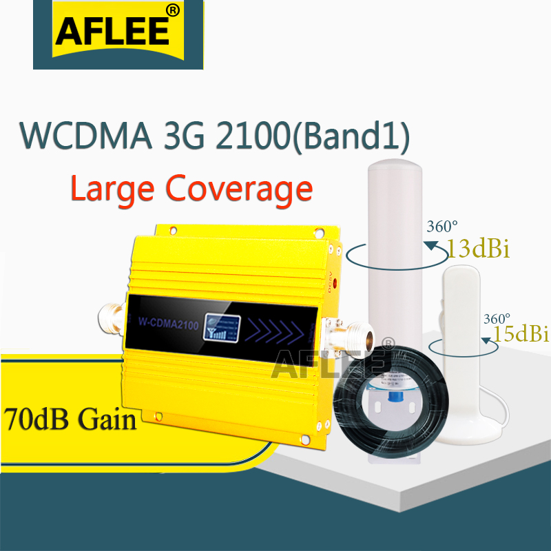 LTE Band1 2100mhz 3G Cellular Amplifier WCDMA 2100MHZ 3G Moblie Signal Booster Repeater Gsm 3g 4g Cellphone Signal Booster