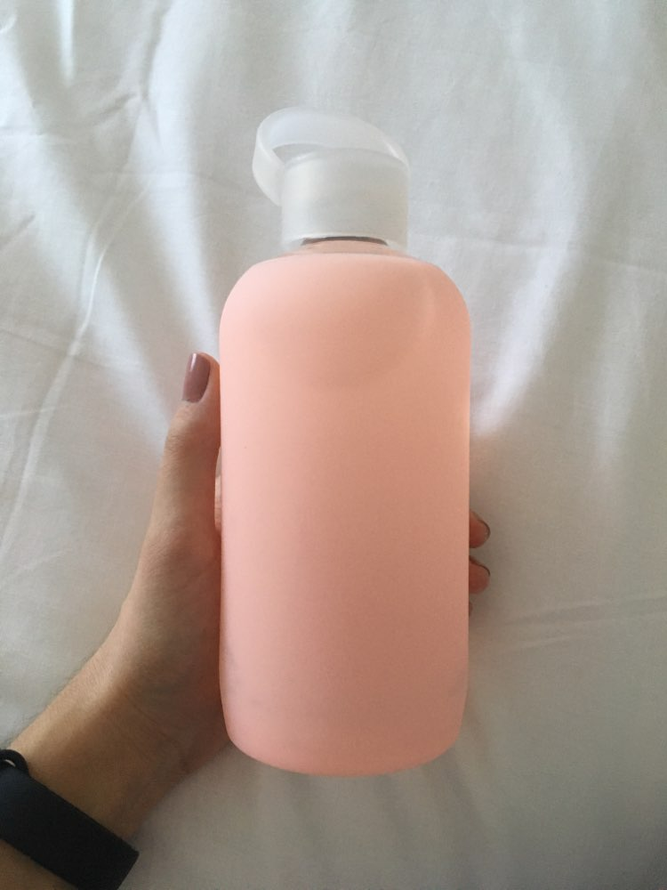 Arshen New Fashion Colorful 500mL Glass Water Bottle Glass Beautiful Gift Women Water Bottles with Protective Silicon Case Tour|glass water bottle|fashion water bottle|water bottle - AliExpress
