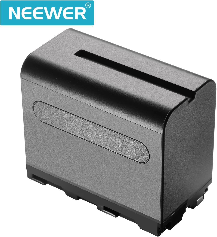 Купить двухцветный светодиодный светильник neewer и подставка с аккумулятором