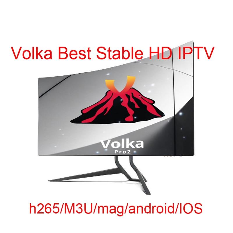 VOLKA Iptv Subscription French Arabic Iptv Smarter Pro Smart Tv Europe Italian Polish Spanish Uk Portugal Sports Channel
