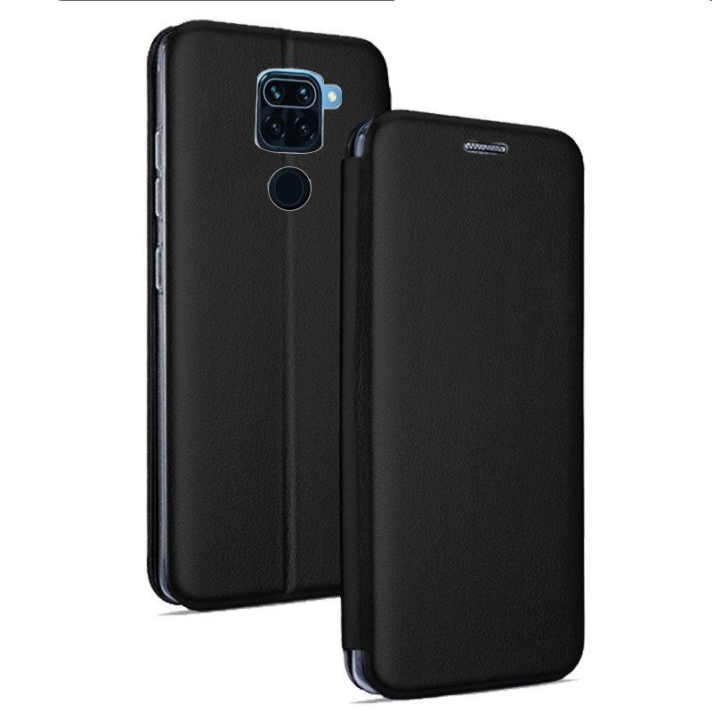 Xiaomi Redmi Note 9 Elegance Flip Cover Case Black