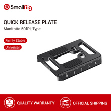 SmallRig Manfrotto 501PL Type 퀵 릴리스 플레이트 선택 SmallRig 케이지/DJI Ronin S Gimbal   2458